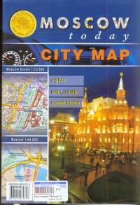 Moscow today. City map. Moscow Centre. Moscow. Street Index
